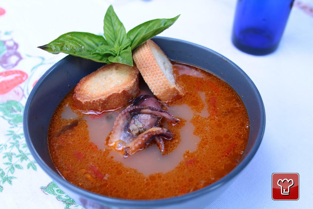 Zuppa di pesce alla gallipolina